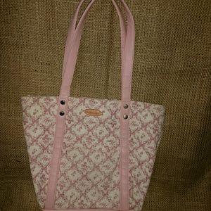 Vintage Longaberger mini bag hope breast cancer