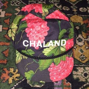 Chaland Cap Vintage SnapBack with Grapes