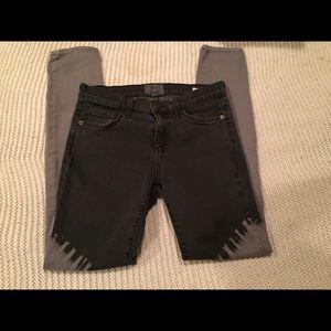 Current Elliot skinny ombré jeans