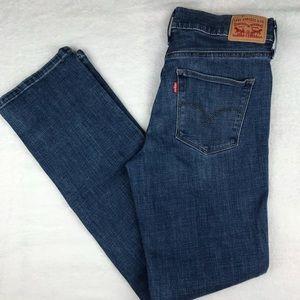 Levi's Denim Jeans Straight Leg Perfectly Slimming