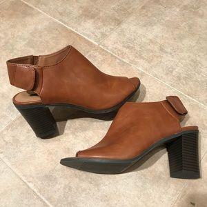 Wedge heels bootie