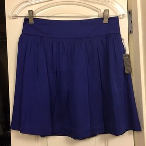 Flowy Mini Skirt- Royal Blue/Purple