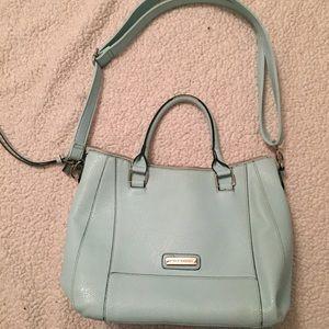 Mint Light Blue Steve Madden Shoulder Satchel Bag