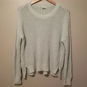 Lou & Grey Mint Sweater Size Medium