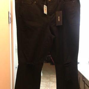 Brand new skinny destructive torrid jeans