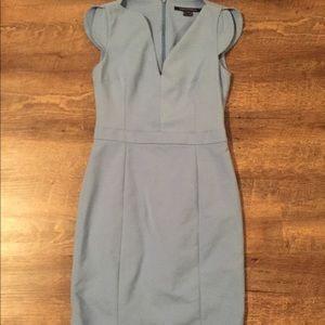French Connection Light Blue Business Dress