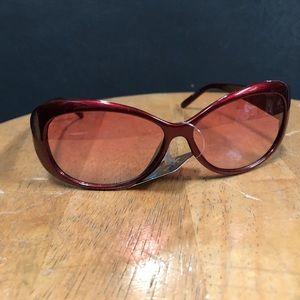 Accessories - Burgundy Colored Shades Sunglasses Fashion