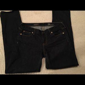 Women's matchstick  j.crew jeans
