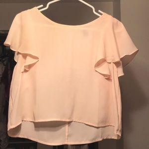Pink Forever 21 blouse