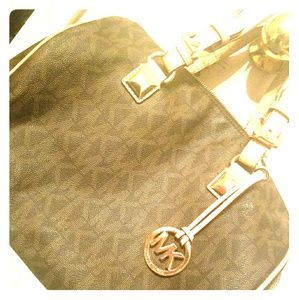 Michael Kors brown purse