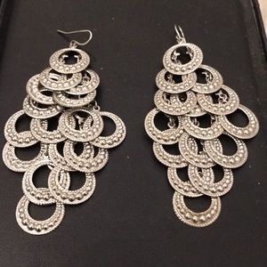 Hanging Silver Earrings
