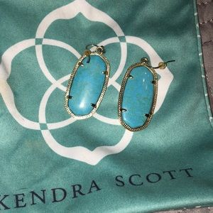 Kendra Scott Elle Turquoise Earrings