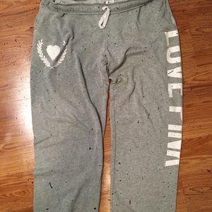 Victoria's Secret PINK campus pants L