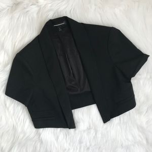 Express Black Bolero Jacket {S1}