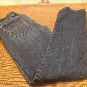 Abercrombie Straight Leg Jeans - Tall