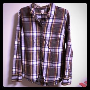 "J.Crew ""the perfect shirt"" flannel"