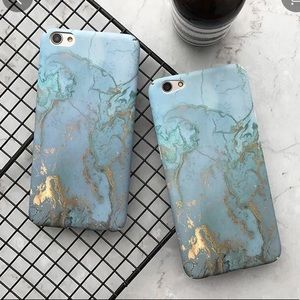 🎈Marble Gold Teal Iphone Case🎈