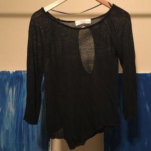 Blouse ZARA black blouse