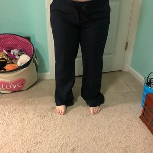Navy blue J Crew pants