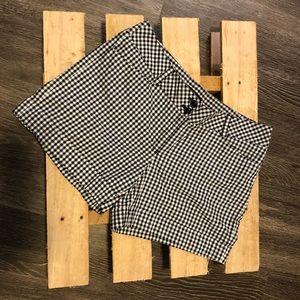 [White House Black Market] Plaid shorts