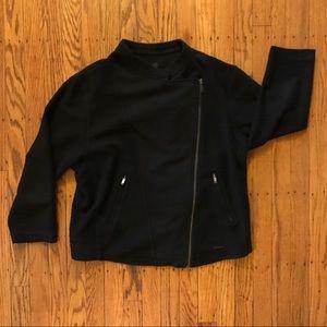 Calvin Klein moto jacket large black comfortable