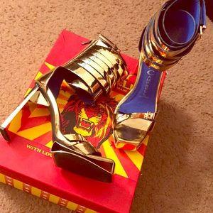 Jeffrey Campbell Mattea Platform Heel Sandal