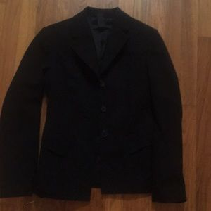 The Limited Black Lined Blazer