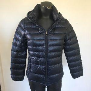 Duvetica Navy Puffer Jacket