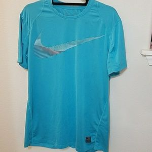 Men's Nike pro fitted athletic running shirt large