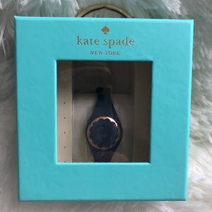 Kate Spade black activity tracker