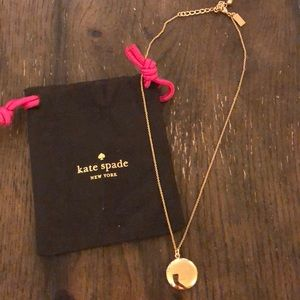 Kate spade partners in crime necklace