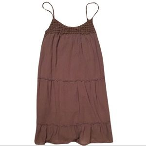 SALE! Old Navy Brown Sleeveless Dress