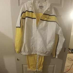 Retro Nike Track Suit.  Very nice lined suit.