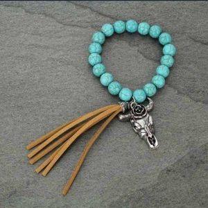Stretch Bull Bracelet