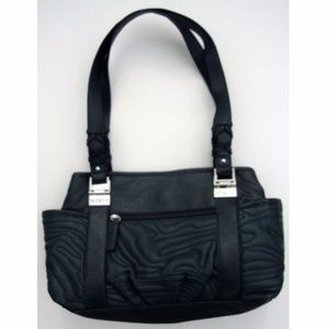 Rosetti Quilted Faux Leather Shoulder Bag Purse