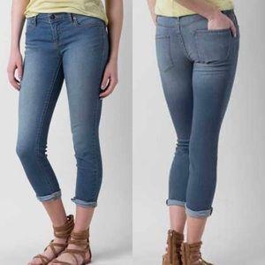 Free People crop skinny jeans