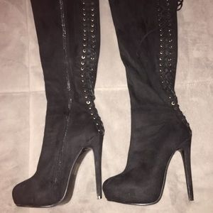 Women's Steve Madden over the knee Boots size 8.5