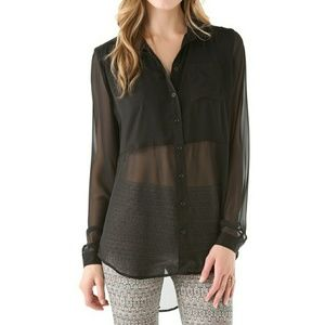Free People Best of Both Worlds Blouse