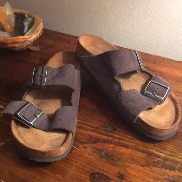 d72f321b314 Birkenstock Shoes - Velvet Gray Suede Birkenstock Arizona 38