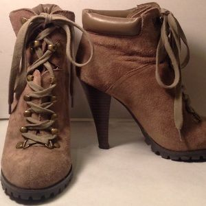 Jessica Simpson heeled suede  boot