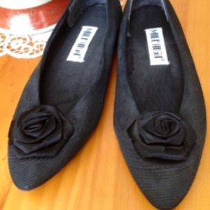 Mile High Fabric Flower Flats