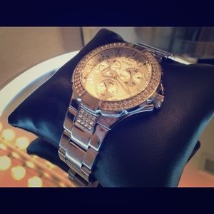 CLOSEOUT: Guess Chronograph Watch