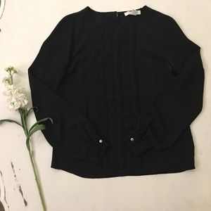 Forever 21 long sleeve professional blouse