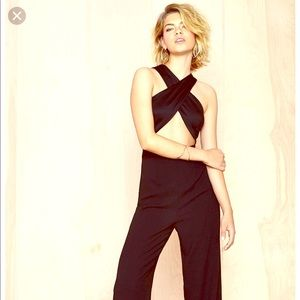Nasty Gal cross my heart jumpsuit New Years! M