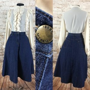 Isaac Mizrahi for Target denim circle skirt