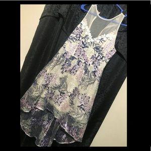 Dresses & Skirts - Floral high-low dress