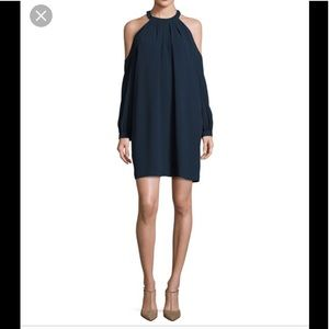 "BCBGMAXAZRIA ""Josephine"" crepe shift dress."