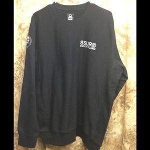 SSUR Black Pullover Sweatshirt