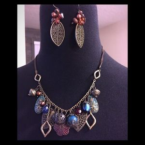Jewelry - NWT necklace and earrings