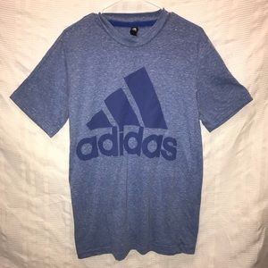 Adidas shirt sleeved logo t shirt size M medium